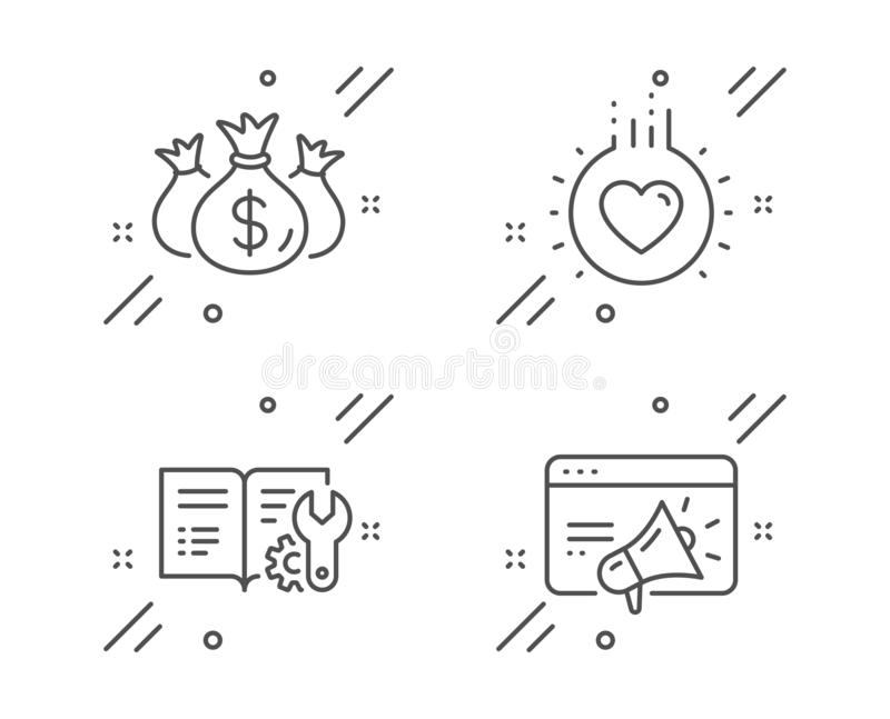 I Love My Job For Investment Concept,cartoon Businessman