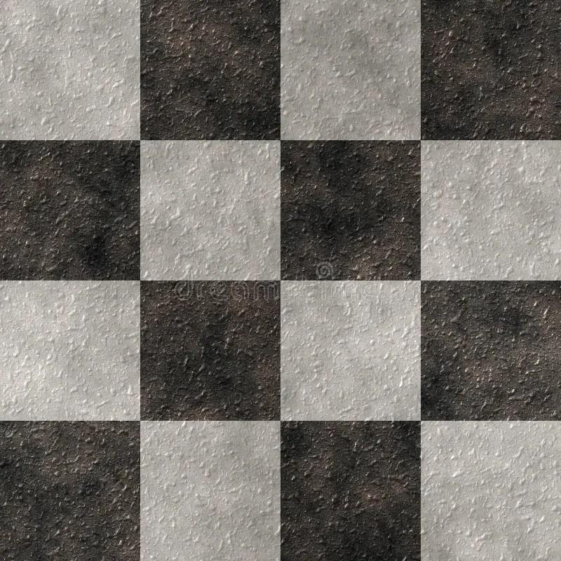 Checker Stone (Seamless Texture) Stock Photo