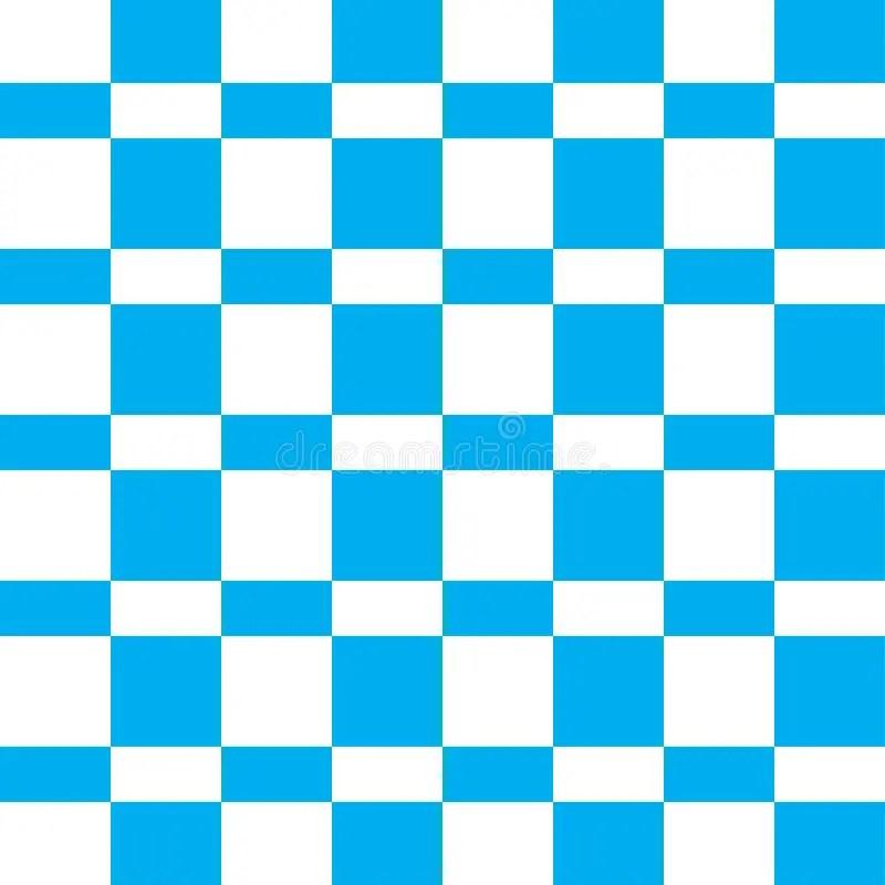 White Shingles Checkered Black And