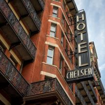 Chelsea Hotel York Nyc Usa Editorial Stock