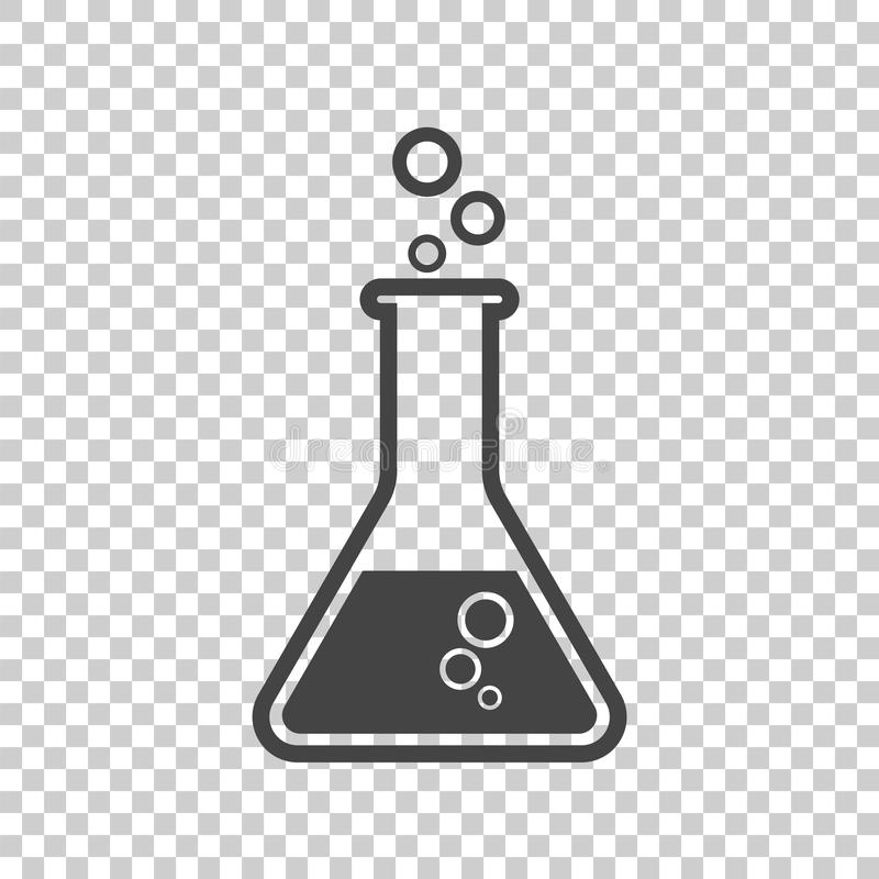 Chemical Test Tube Pictogram Icon. Chemical Lab Equipment
