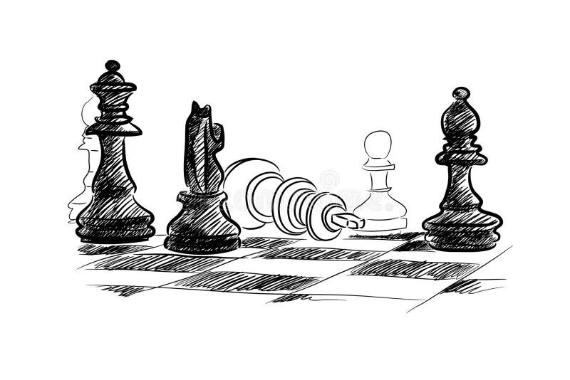 Chess game stock photo. Image of brain, challenge, naive