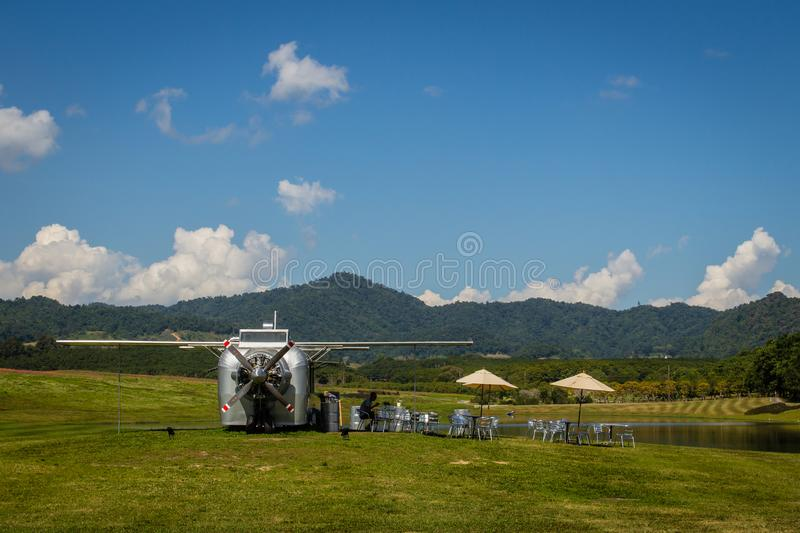 Sustainable Tourism Project In The Park At Singha Park Or Boon Rawd Farm. One Of The Largest Tea Producers In Chiang Rai. Thailand Editorial Image ...