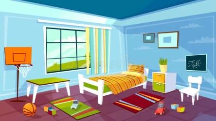 Kid Bedroom Stock Illustrations 8 025 Kid Bedroom Stock Illustrations Vectors & Clipart Dreamstime