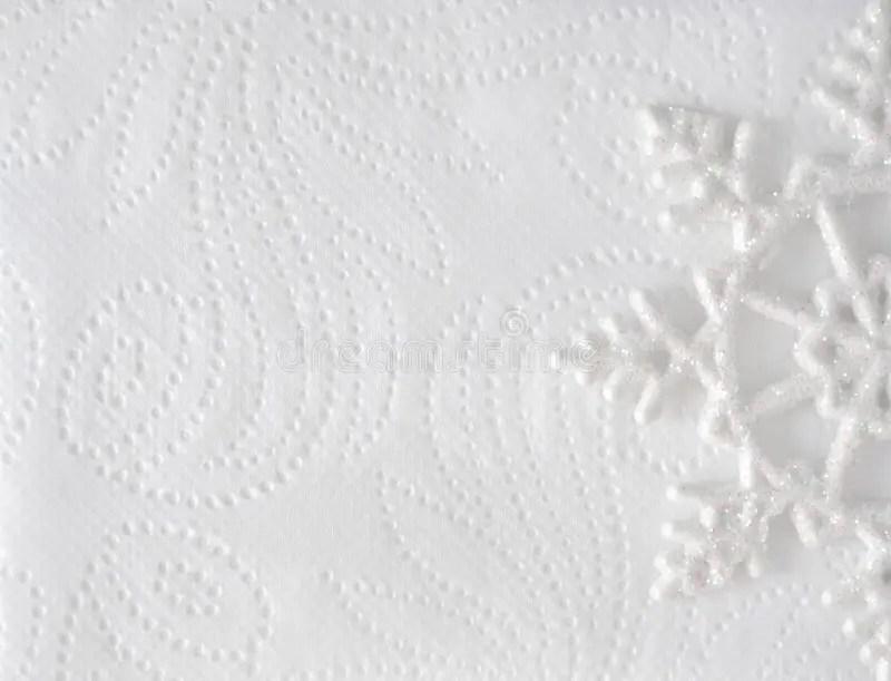 Christmas Minimal Elegant Background. Snowflake On White