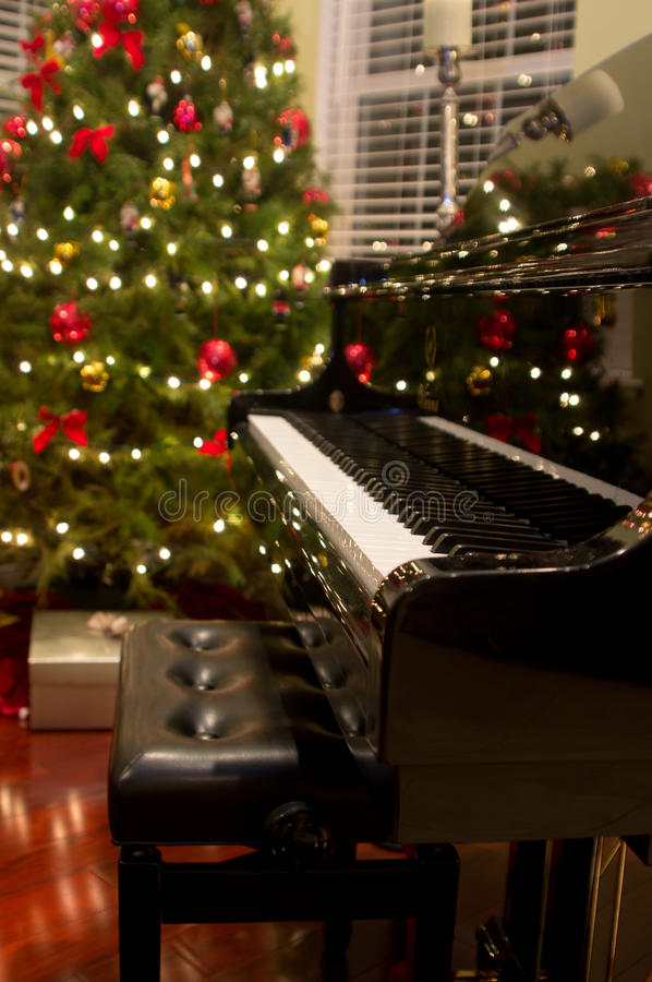 Christmas Piano Royalty Free Stock Photo Image 26349535