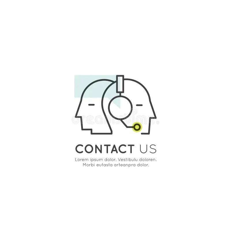 Gruppo Di Sostegno Di Call-center Con Le Cuffie