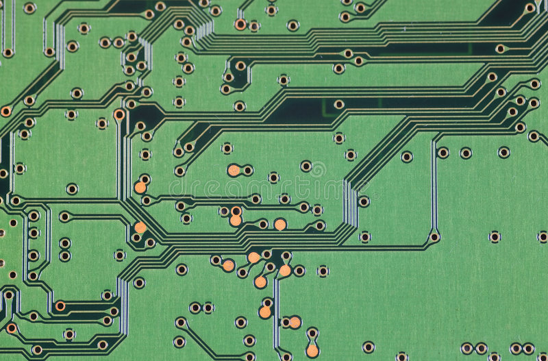 Circuit Board Stock Image. Image Of Electronic, Parts