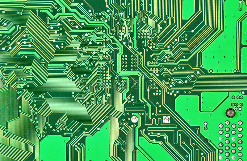 Printed Circuit Board Seamless Pattern Eps10