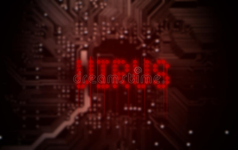 Virus Text On Circuit Board Stock Photo Getty Images