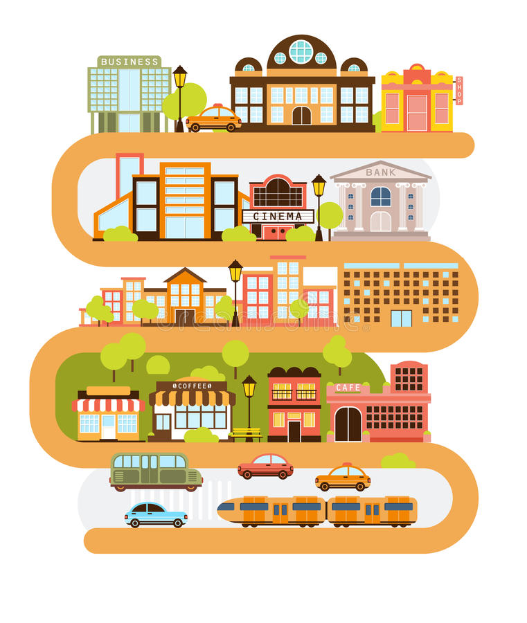 infrastructure stock illustrations 35