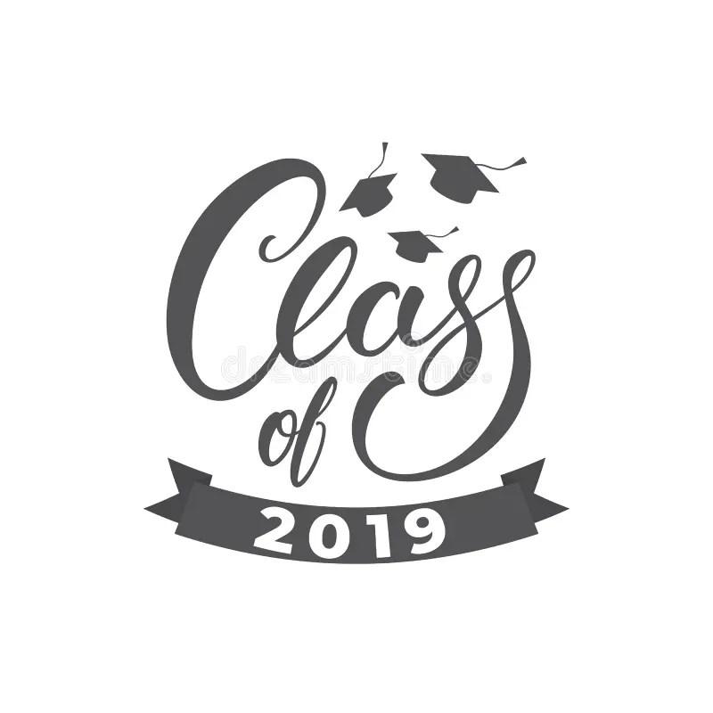 Graduation Vector Class Of 2019 Congrats Grad