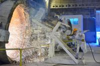 Clean blast furnace stock image. Image of explosion, heat