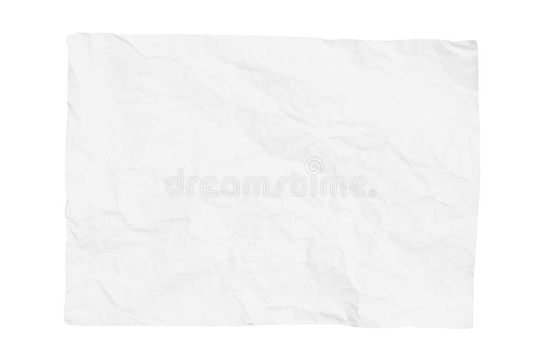 Gray Paper Bag Isolated On White Background Stock Photo