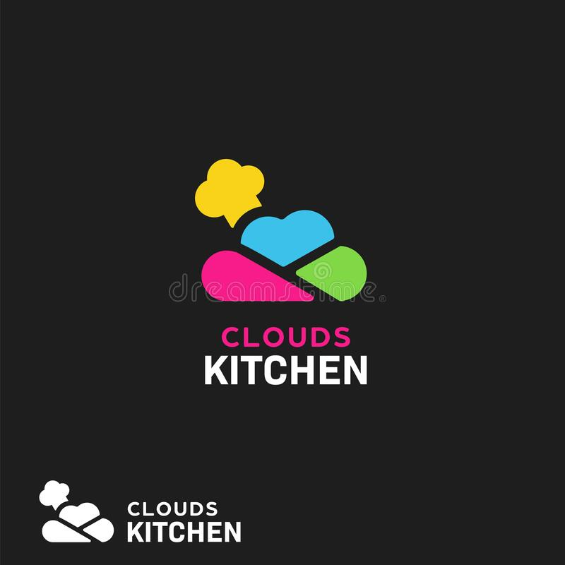 Are you searching for kitchen logo png images or vector? Cloud Kitchen Logo With Colorful Cloud Icon And Chef Hat Best For Digital Delivery Restaurant Service Or Modern Kitchen Apps Stock Vector Illustration Of Cloud Dinner 169224685