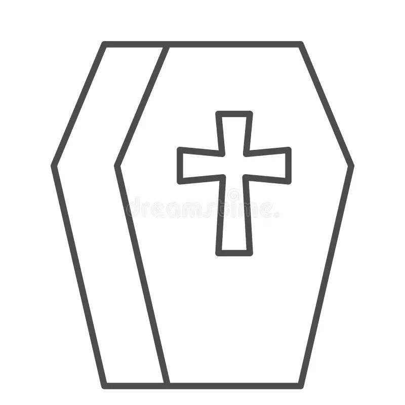 Coffin Stock Illustrations