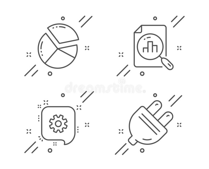 Engineering Construction Energy Technology Vector Line