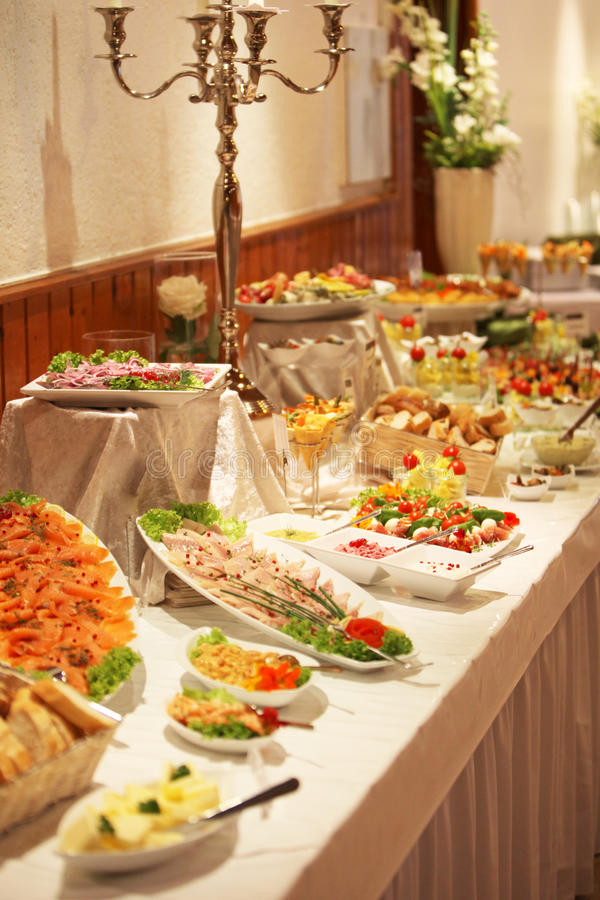 Cold Wedding Buffet Menu