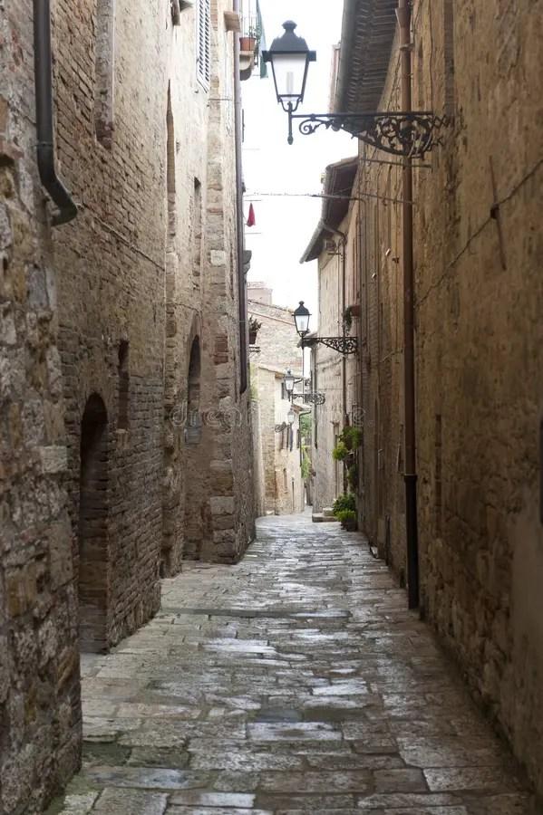 Colle Di Val D39Elsa Siena Tuscany Stock Photo Image