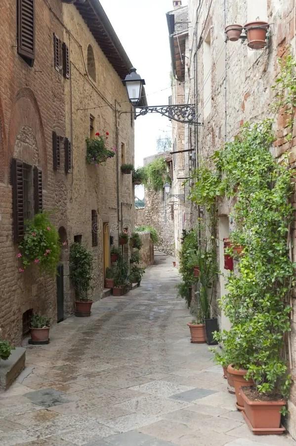 Colle Di Val D39Elsa Siena Tuscany Stock Image Image