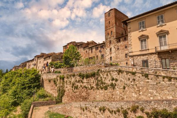 Colle Di Val D39Elsa Tuscany Italy Stock Photo Image of