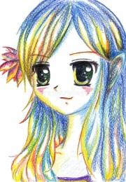 colorful anime manga kawaii cartoon
