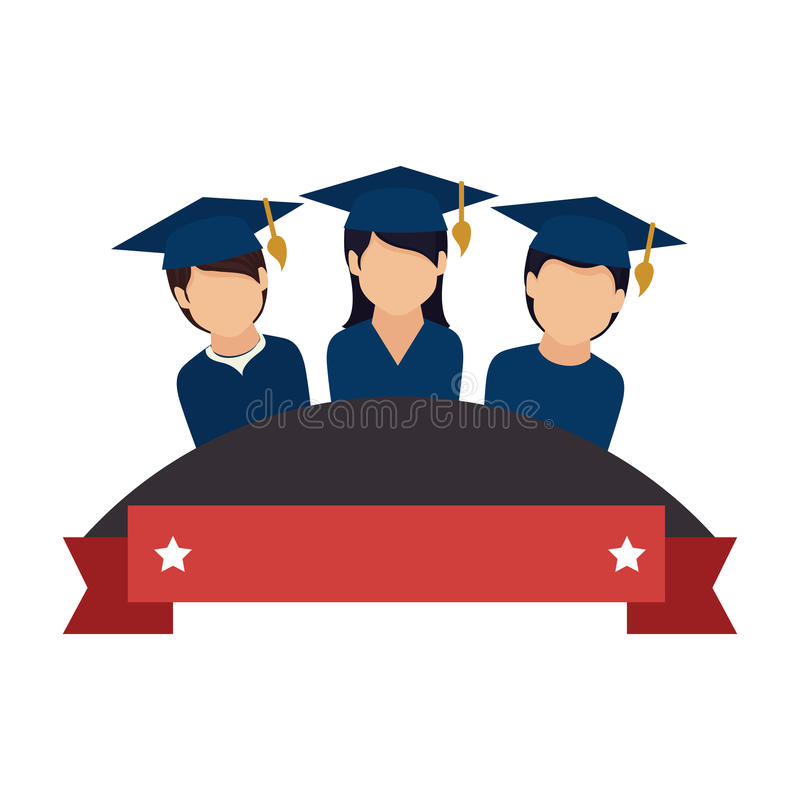 students success vector stock