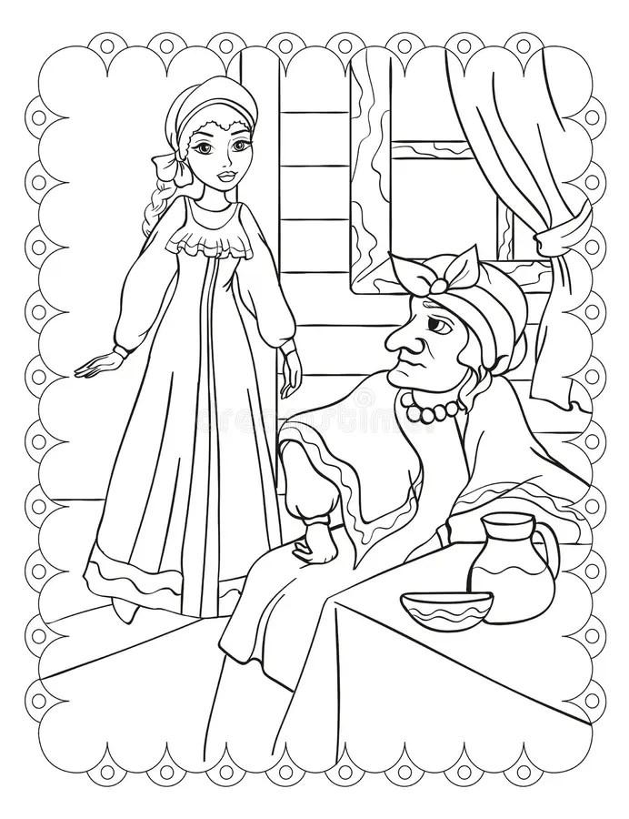 Stepmother Stock Illustrations