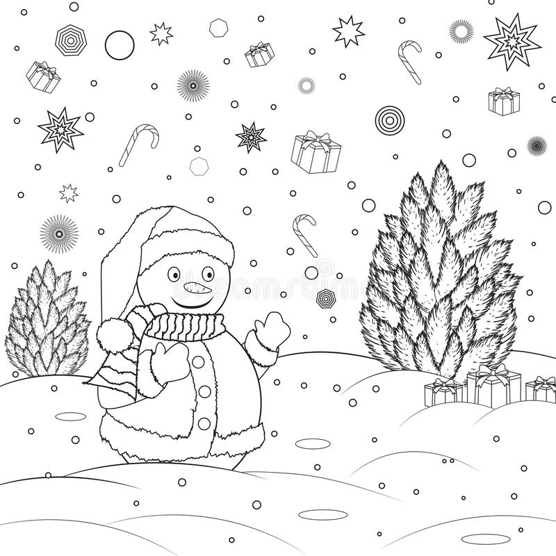 Glove Coloring Page Stock Illustrations