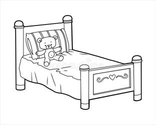 Bed Coloring Stock Illustrations 791 Bed Coloring Stock Illustrations Vectors & Clipart Dreamstime