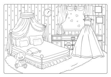 Room Coloring Stock Illustrations 2 351 Room Coloring Stock Illustrations Vectors & Clipart Dreamstime