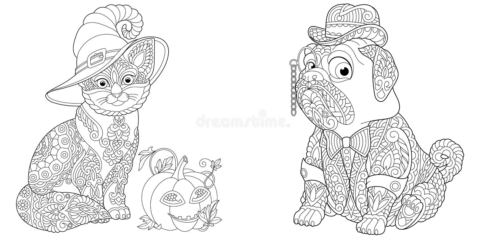 Cute Dog Colouring Stock Illustrations 347 Cute Dog Colouring Stock Illustrations Vectors Clipart Dreamstime