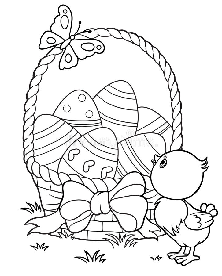 Tiny Chick stock illustration. Illustration of tiny