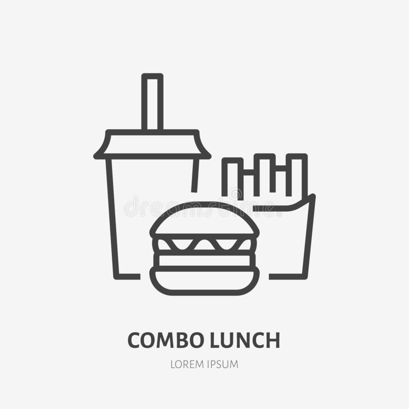 Lunch Logo Stock Illustrations