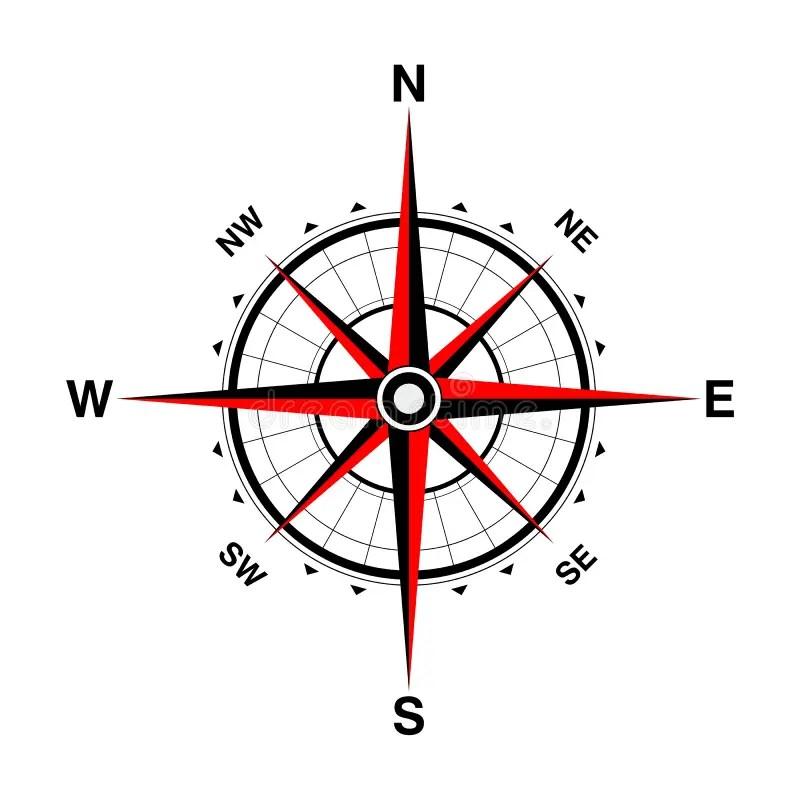 Compass 2015 stock illustration. Illustration of turn