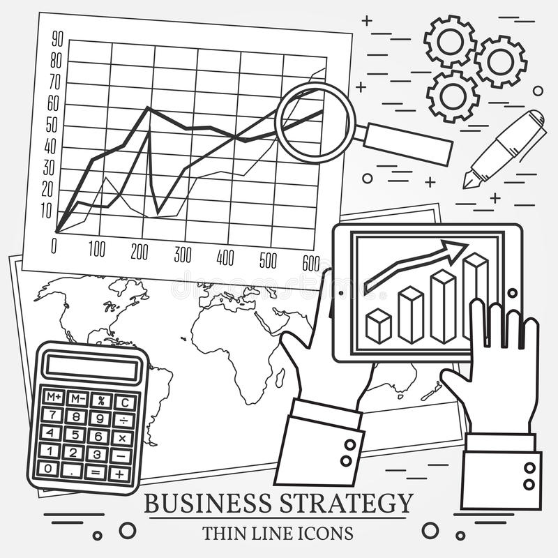Concept For Business Analysis, Consulting, Strategy