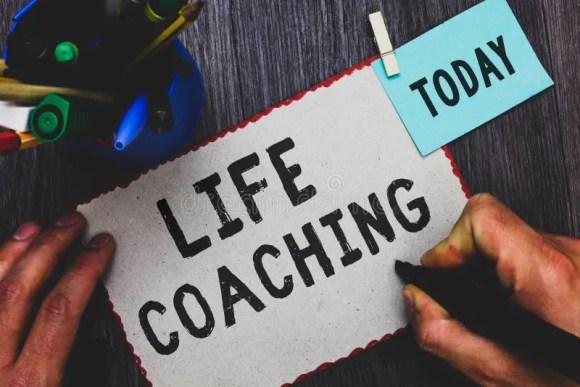 Conceptual Hand Writing Showing Life Coaching. Business ...
