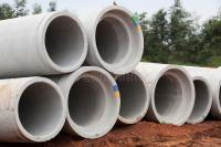 Concrete Pipes Water Drainage Royalty Free Stock Photo ...