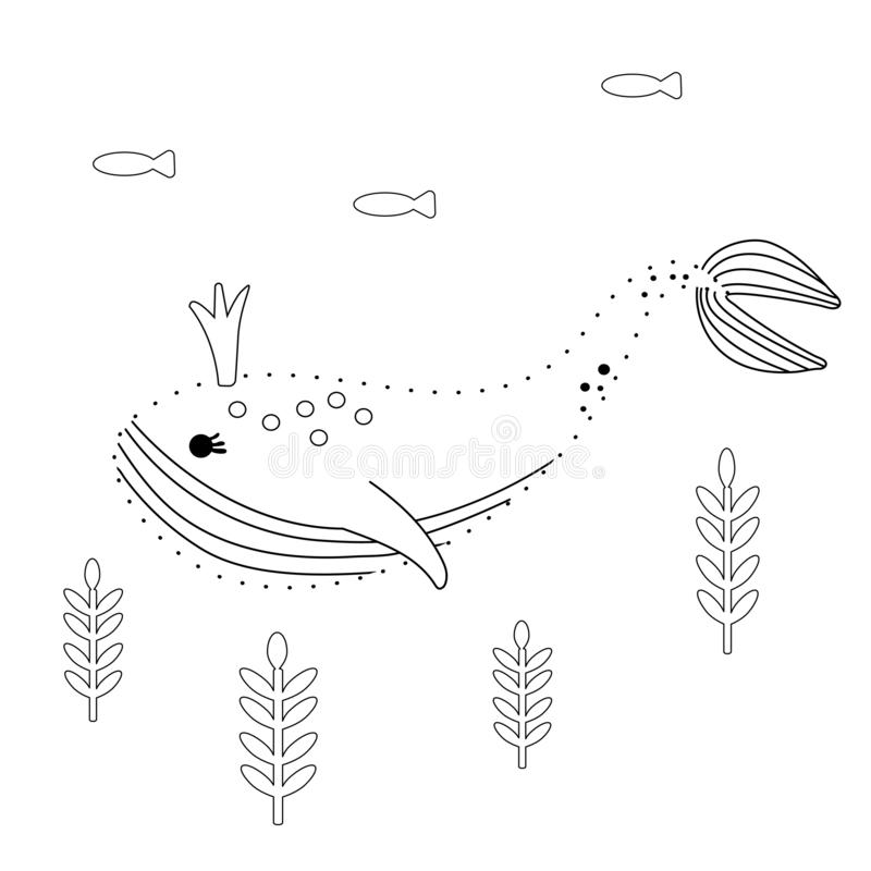 Connect The Dots. Dino Print Cards For Educational Game