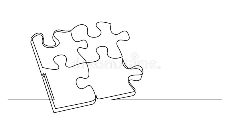 Drawing Solution For Problems Stock Illustration