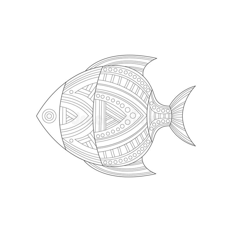 Body parts coloring page stock illustration. Illustration