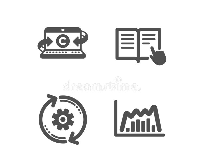 Read Instruction, Payment Method And Information Icons Set