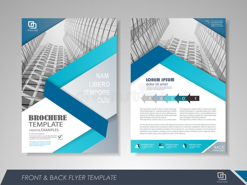 Corporate Brochures Stock Vector Illustration Of Blank 75550841