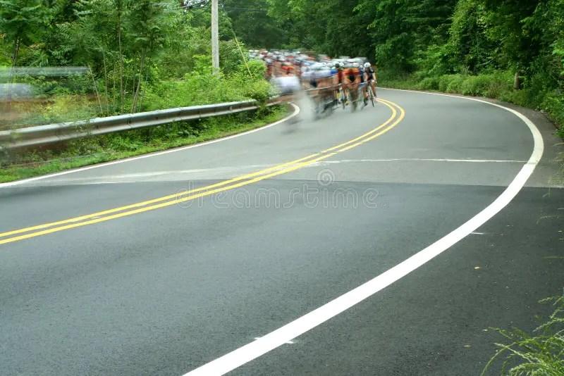 Corsa Di Strada Della Bicicletta Immagine Stock - Immagine di corsa. movimento: 31270987