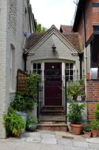 Cottage Doorway Stock Image - Image: 32864051