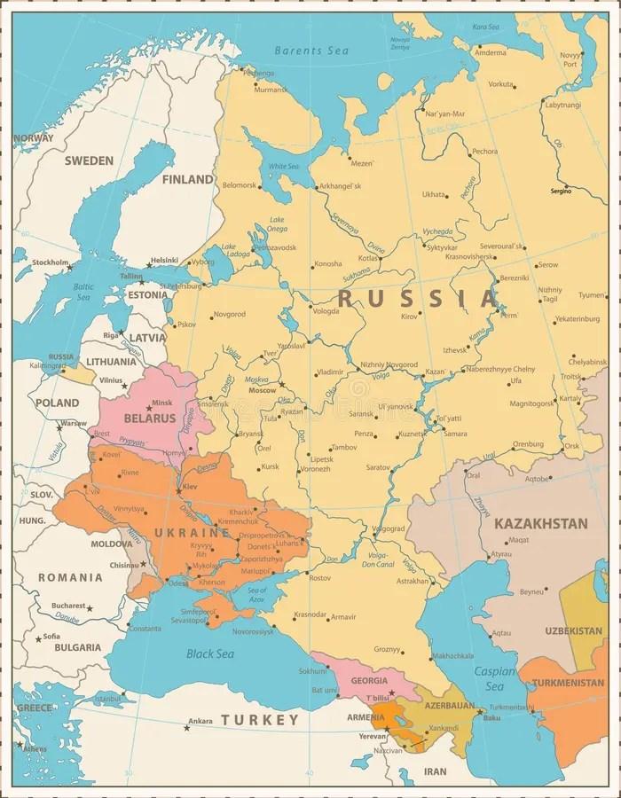 L Europe De L Est : europe, Carte, Politique, L'Europe, L'Est, D'isolement, Blanc, Illustration, Vecteur, Oriental,, Pays:, 117022068