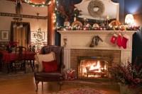 Christmas Tree Firep Cozy Living Room - Best site wiring ...