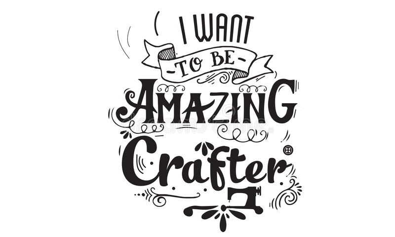 Craft Vector Quote Stock Vector Illustration Of Sewing 82903969