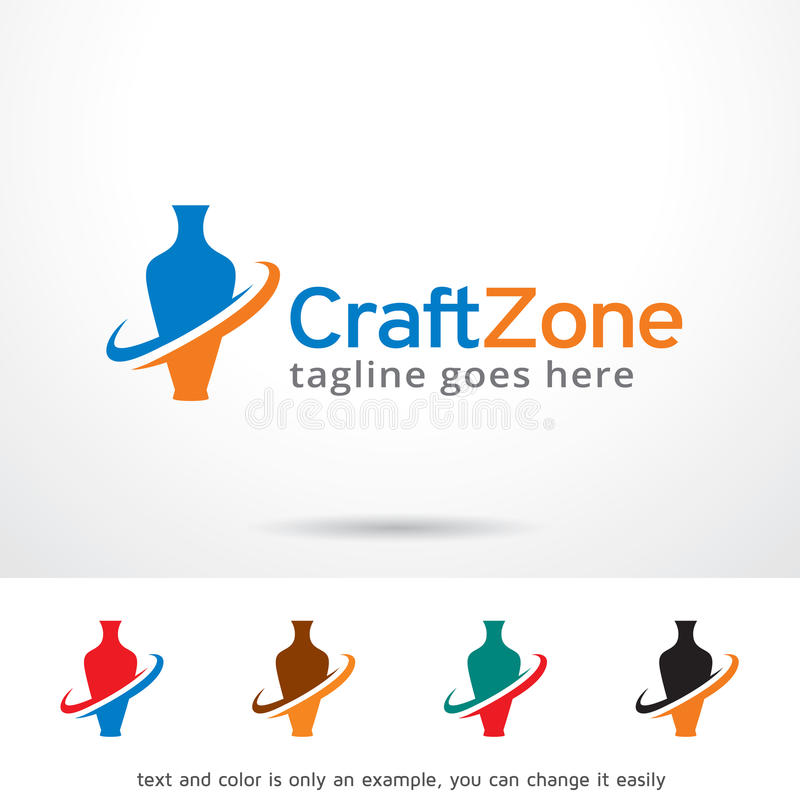 Craft Zone Logo Template Design Vector Stock Vector Illustration Of Agency Agent 84857296