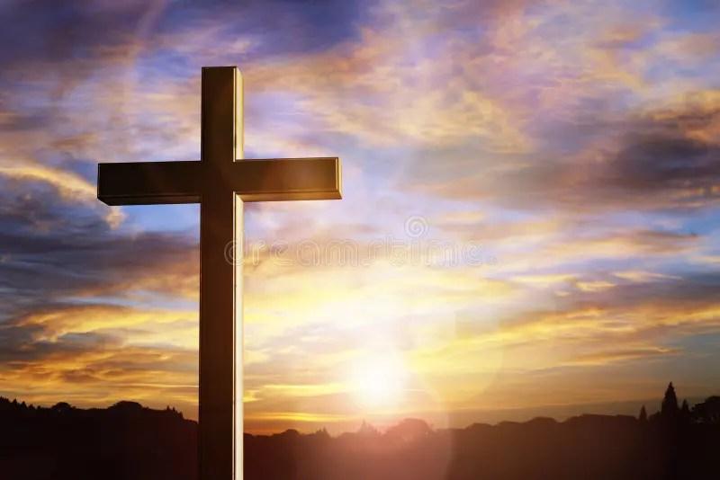 crucifixion jesus christ stock